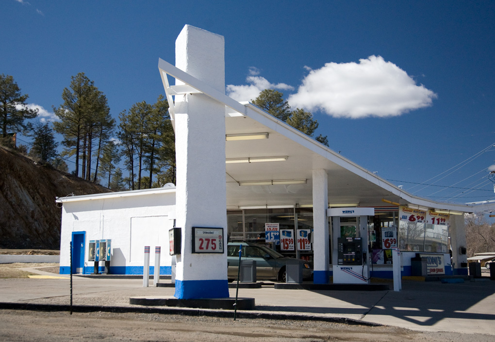 Mid Century Modern Gas Station In Prescott Az Text And